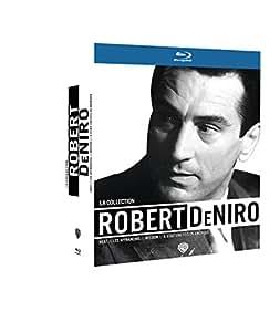 La Collection Robert De Niro - Il était une fois en Amérique + Les affranchis + Heat + Mission [Blu-ray]