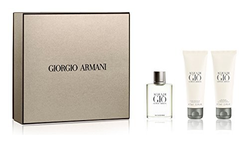 Acqua di Giò Homme edt 50 ml + Shower gel 75 ml + Balsamo dopobarba 75 ml di Giorgio Armani, Uomo - Cofanetto