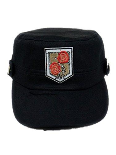 Mens Shingeki no Kyojin Cosplay Hat Black Mj61b