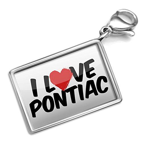 Neonblond I Love Pontiac - Charm Lobster Clasp clip on (Pontiac Charm compare prices)
