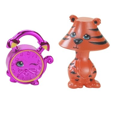 Polly Pocket Litegrrr & Kitty Tock Figure