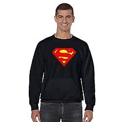 Gifts for Him, Giftsmate Superman Sweatshirt With Kangaroo Pocket