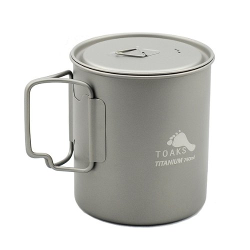 TOAKS Titanium 750ml Pot (Titanium Pot Backpacking compare prices)