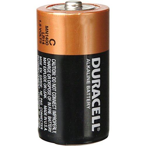 Duracell Copper Top Alkaline Battery Size C Bulk - Case of 72 - Model mn1400