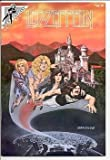 img - for Led Zeppelin (Rock Fantasy comics) Feb. 1990 book / textbook / text book
