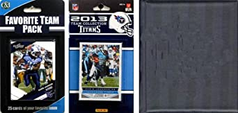 NFL Tennessee Titans Licensed 2013 Score Team Set and Favorite Player Trading Card... by C&I Collectables