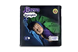 Libero Drynights Large Size Diaper (17 counts)