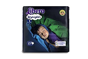 Image result for Libero Drynights Large Size Diaper (17 counts)