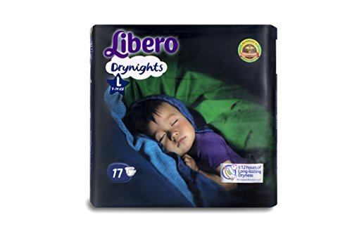 Libero Dry Nights Large 17 Pieces