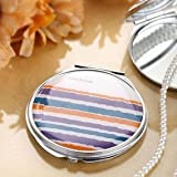 HOLI® Colorful Rainbow Round Mirror Cosmetic Mirror Compact Mirror, Gift Idea, Gift Box Includedby HOLI