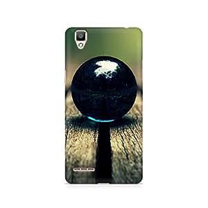 Mobicture Dark Ball Premium Printed Case For Oppo F1