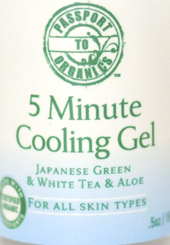 5 Minute Cooling Gel - Neutralizer skin pH balancer after peel - with Japanese Green Tea & Aloe - Larger Size