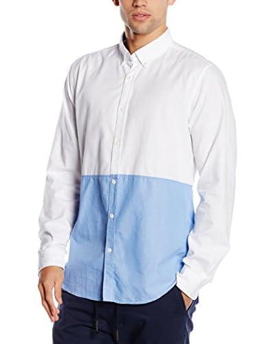 Springfield Hemd blau/dunkelblau