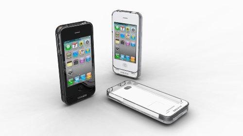 EXOGEAR iPhone4用バッテリージャケット exolife ブラック E125