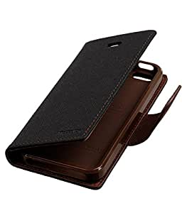 Samsung Galaxy Alpha G850 MERCURY FILP COVER BLACK BROWN