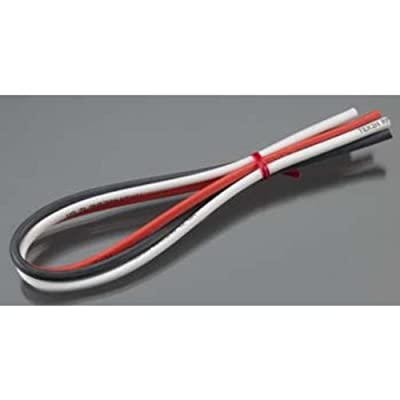 Tekin TT3011 12awg Silicon Power Wire 3pcs 12 Red/Blk/White