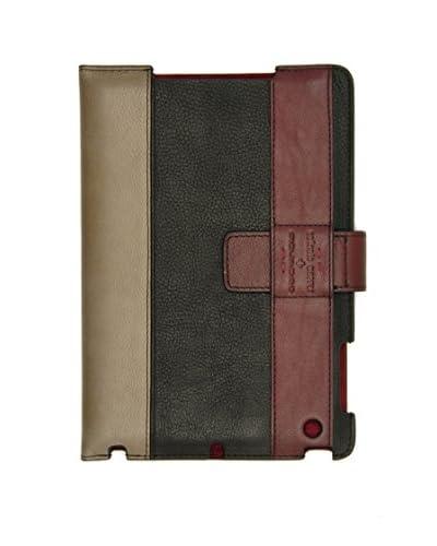 Piquadro Funda iPad Mini Simbad Negro / Burdeos
