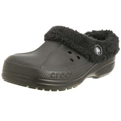Amazon.com: Crocs Blitzen Winter Shoes,Black/Black,12 M US