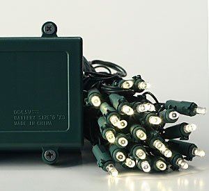 battery operated christmas lights with timer. Black Bedroom Furniture Sets. Home Design Ideas