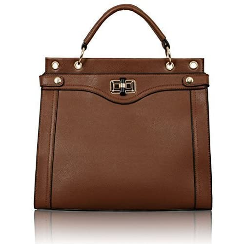 New Womens Designer Bags Ladies Fashion Handbags Tote Shoulder Faux Leather Celebrity Style