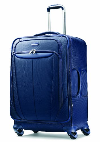Samsonite Luggage Silhouette Sphere Expandable 29 Inch Spinner, Indigo Blue, One Size top price