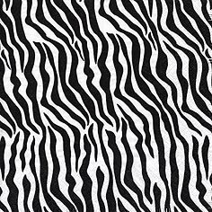 Classic Zebra Print Party Napkins - Table Decotration