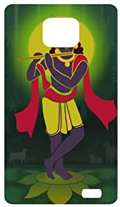 Lord Krishna Back Cover Case for Samsung Galaxy S2 / SII / I9100