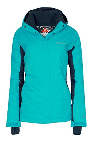 Columbia Women's Sportswear Powderhouse II Omni-Heat Insulated Jacket (LARGE, BLUE/NAVY) (Heat Jackets compare prices)