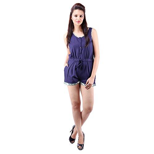 GOODWILL-Womens-Festive-Wear-Navy-Viscose-Jumpsuit