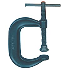 Armstrong 78-413 12-Inch Capacity Deep Throat Pattern C-Clamp, with Full-Length Screw
