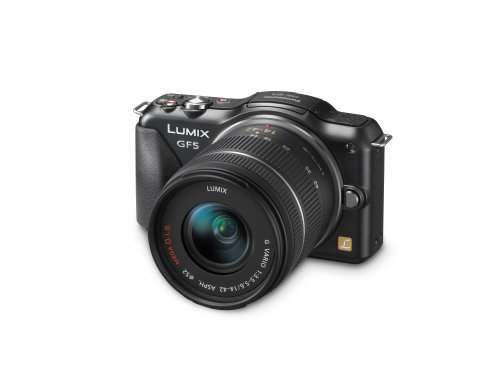 Panasonic DMC-GF5KK 12 MP Compact System Camera