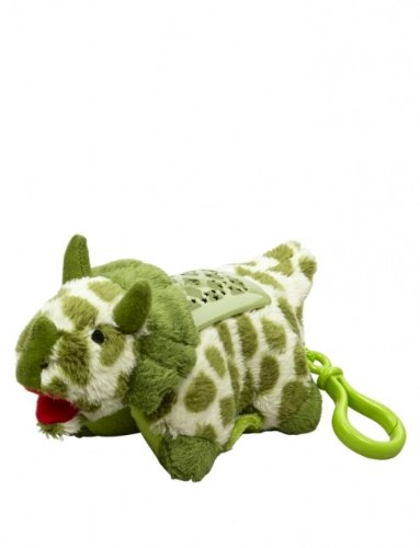 Pillow Pets Dream Lites Mini - Green Triceratops - 1