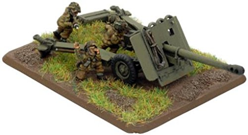 17 PDR Gun (Para) British Two Guns with Command - Wargaming - Flames of War (Flames Of War British Rifle compare prices)
