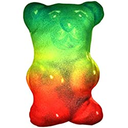 Novelty Inc. Food Fight Pillow 12 Inch Gummy Bear