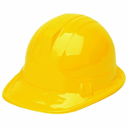 Awesome Bob The Builder Construction Hat Party Hats, Yellow - 1