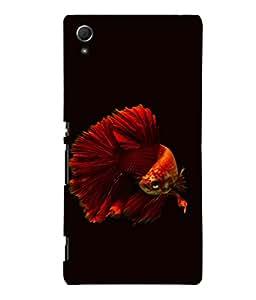 printtech Unique Fish Back Case Cover for Sony Xperia Z4::Sony Xperia Z4 E6553