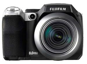 Fujifilm FinePix S8100fd Digital Camera - Black (10.0MP, 18x Optical Zoom) 2.5 inch LCD