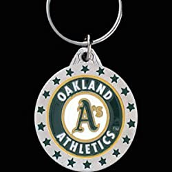 Oakland Athletics Key Ring - MLB Baseball Fan Shop Sports Team Merchandise