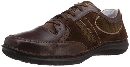 Josef Seibel Anvers 30, Low-Top Sneaker uomo, Marrone (Braun (723 061 bark/teint)), 48