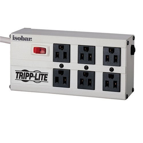 Images for Tripp Lite ISOBAR6 Isobar Surge Protector Metal 6 Outlet 6 feet Cord 3330 Joules