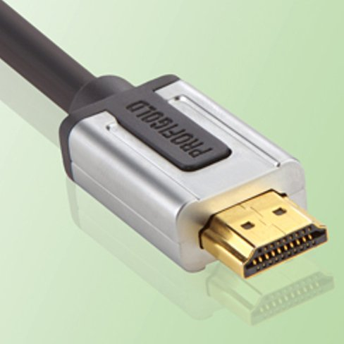 Profigold 0.5m High Speed HDMI Cable with 99.996 Percent OFC Copper and 24K Hard Gold Connectors