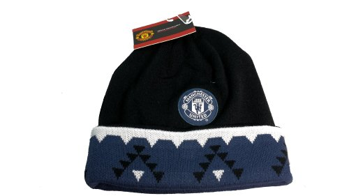 Manchester United Official SOCCER One Size Knit Beanie Hat (Manchester United Beanie Hat compare prices)