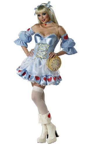 Alice Costume - Rebel Toons Adult Costume deluxe