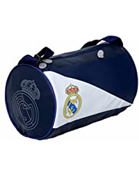 Kuber Industries Soft Leather 12 Ltrs Gym Bag (Blue & White) - KI19109