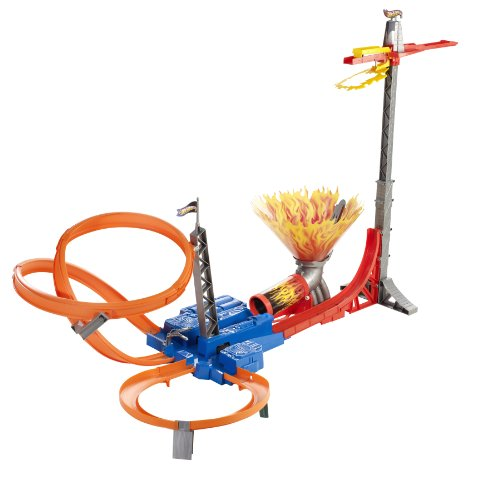 Hot Wheels Sky Jump Track Set