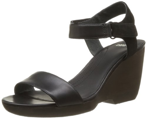 CAMPER Womens Laura Flip-flops 21945-001 Black 5 UK, 38 EU