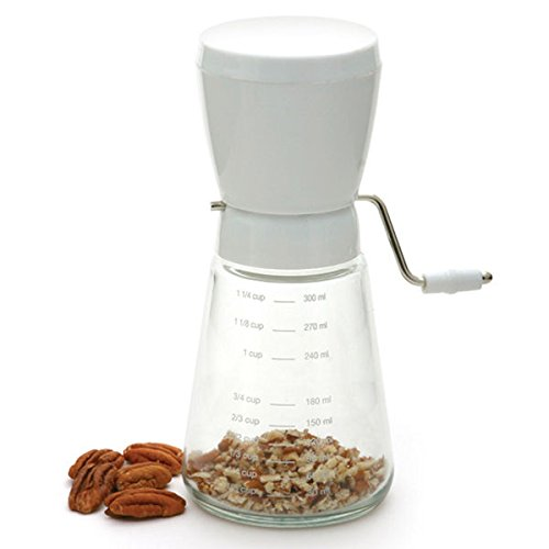 Hand Crank Nut Walnut Almond Peanut Chopper Cutter Grinder Time Saver (Glass Chopper compare prices)