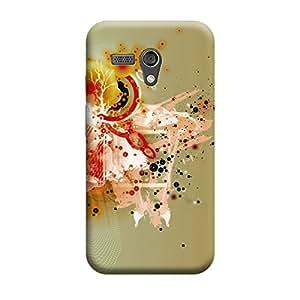 CaseLite Premium Printed Mobile Back Case Cover With Full protection For Moto G (Designer Case)