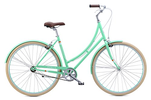 "Review PUBLIC Bikes Women's C1 Dutch Style Step-Thru Single-Speed City Bike, 16""/Small, Mint (2..."