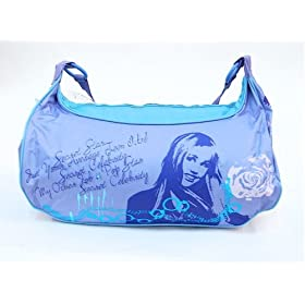 Hannah Montana Tote Bag And Stay Over Night Sleeping Bag